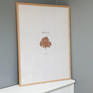 cadre affiche cadeau décoration